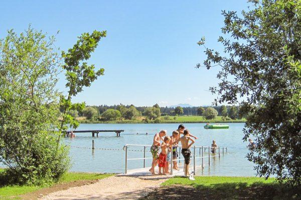 Barrierefreier Zugang zum Obinger See