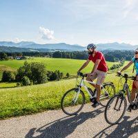 Titelbild Radfahren im Chiemgau