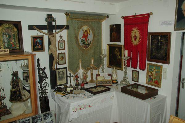 dorfmuseum kienberg reliquien