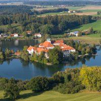 Kloster Seeon Luftaufnahme