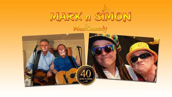 Titelbild zur Veranstaltung : Mark 'n' Simon – 40 Jahre MusiComedy
