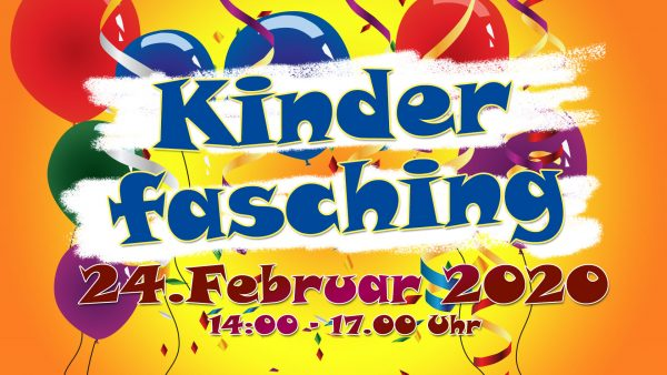 Titelbild zur Veranstaltung : Kinderfasching am Rosenmontag