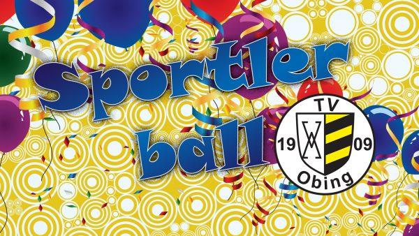 Titelbild zur Veranstaltung : Sportlerball des TV Obing