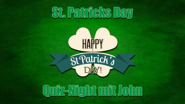 Titelbild zur Veranstaltung : St. Patricks Day – Quiz Night mit John.