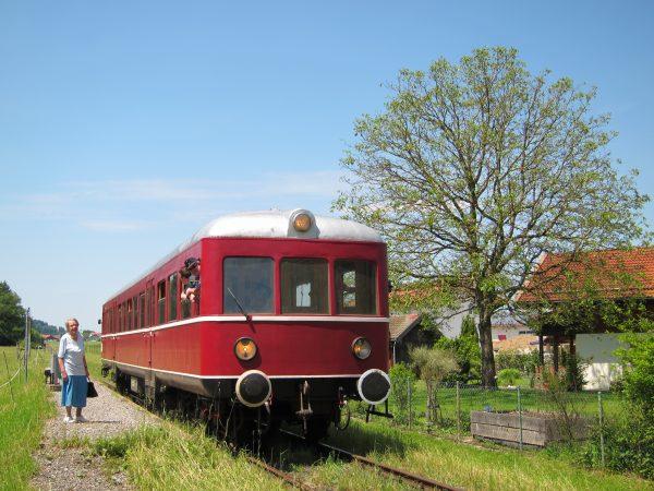 Titelbild zur Veranstaltung : Fahrt mit der Lokalbahn LEO
