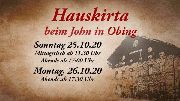 Titelbild zur Veranstaltung : Hauskirta