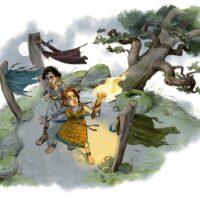 roemerregion illustration kinder pittenhart